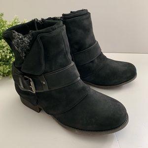Jellypop Lauren Bootie Black Ankle Boot Round Toe